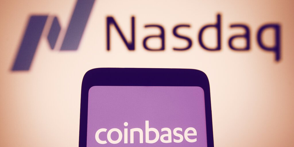 You are currently viewing Coinbase Stock Closes 32% Down From High as Bitcoin Pulls Back