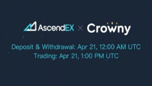 Read more about the article Crowny Listing on AscendEX