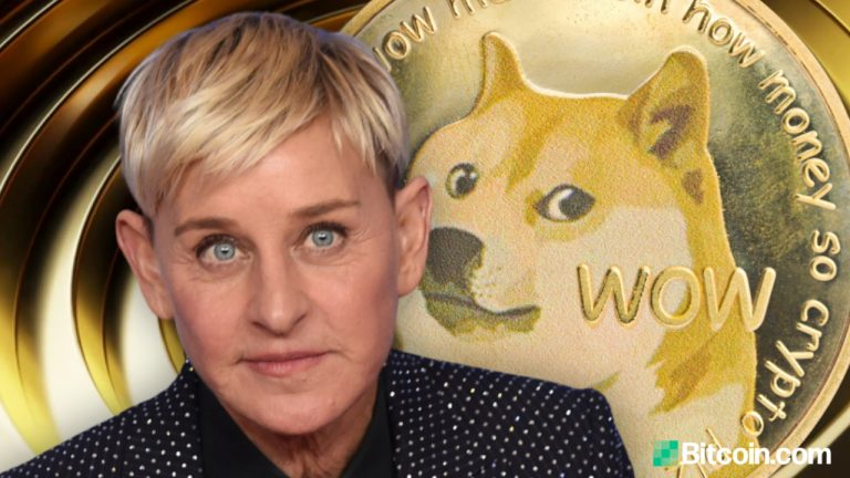 You are currently viewing Popular Talk Show Host Ellen Degeneres Asks About Cryptocurrency — Mark Cuban Urges Her to Accept Dogecoin