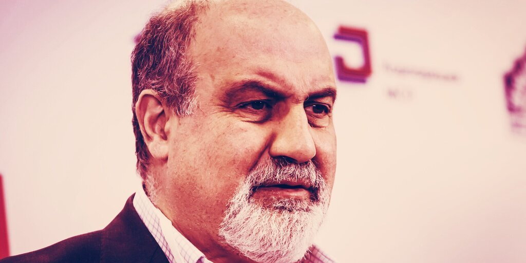 You are currently viewing 'Black Swan' Author Taleb Blasts Bitcoin as 'Ponzi' and 'Gimmick'