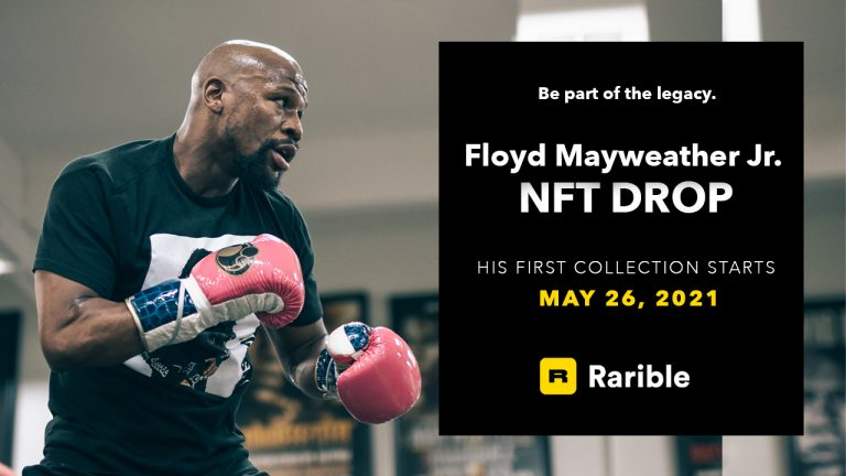 You are currently viewing Dropping Today:  Floyd Mayweather Jr.'s Legacy NFT Collection  Available Now on Rarible
