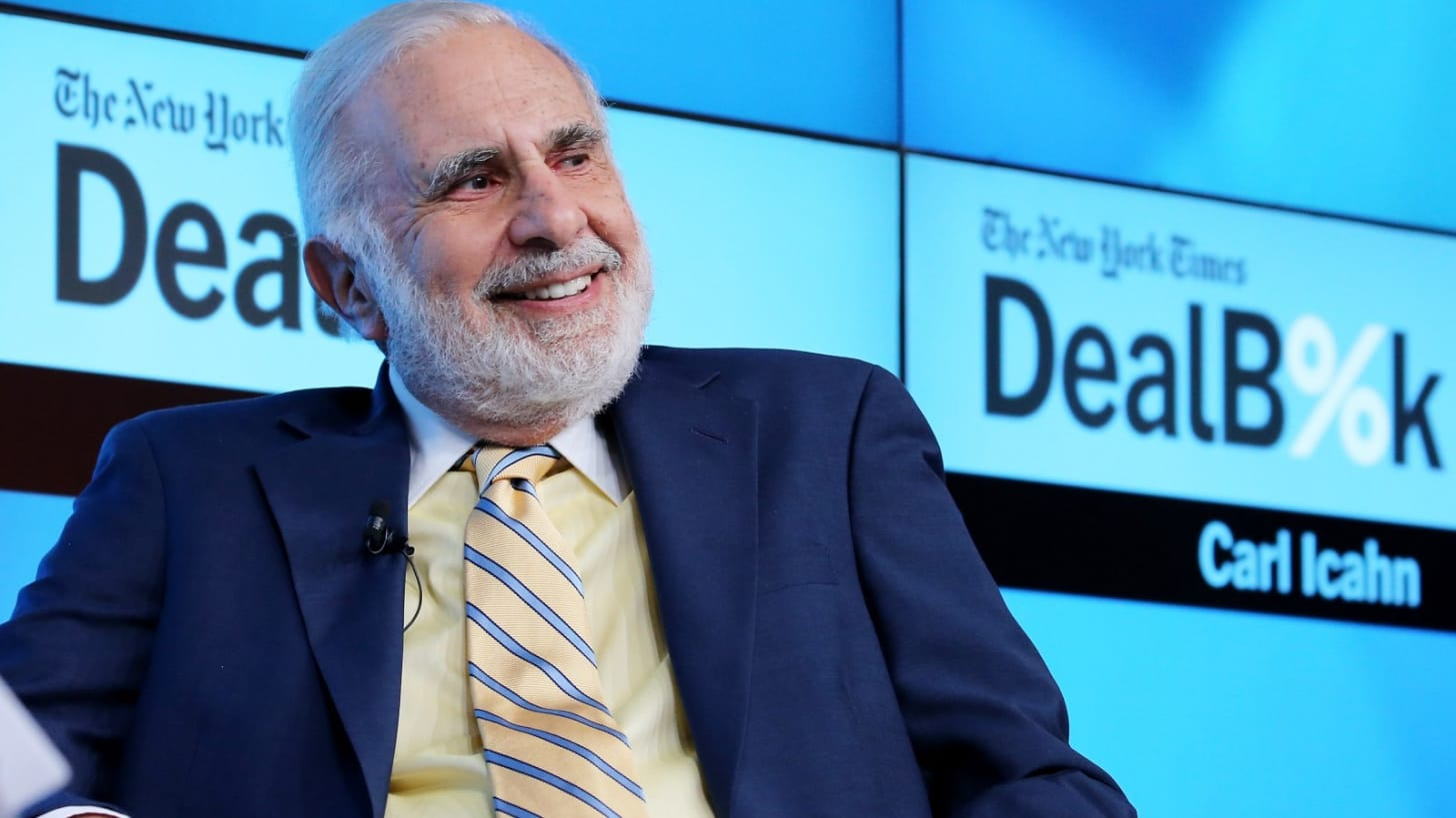 """You are currently viewing Carl Icahn: """"Crypto is Here to Stay"""""""