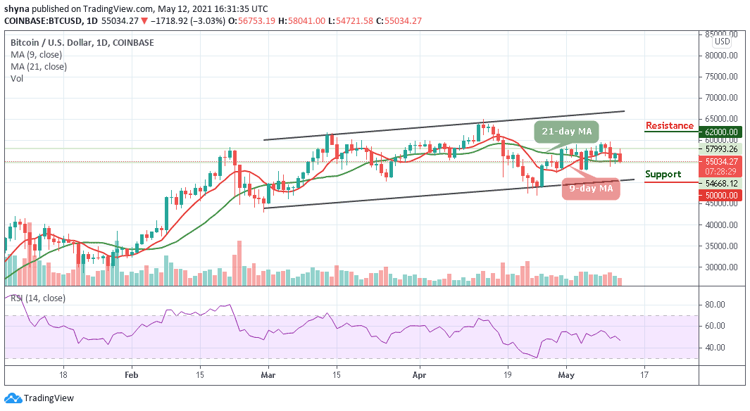 You are currently viewing Bitcoin Price Prediction: BTC/USD Trades below $58,000 Resistance