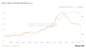 Read more about the article The Number of Bitcoin Whales Is At a Yearly Low, Here's Why