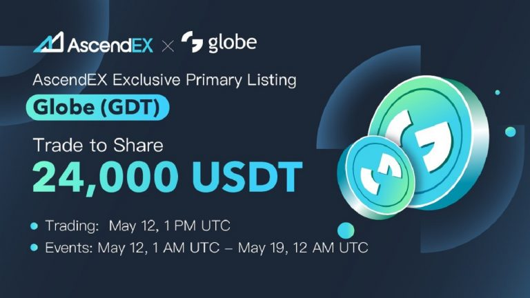You are currently viewing Globe Listing on AscendEX