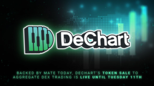 Read more about the article Backed by Mate Tokay, DeChart's Token Sale to Aggregate DEX Trading Is Live Until Tuesday 11th