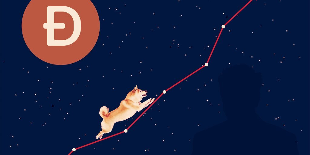 You are currently viewing Dogecoin Price Jumps 30% After Coinbase Says It Will List Token
