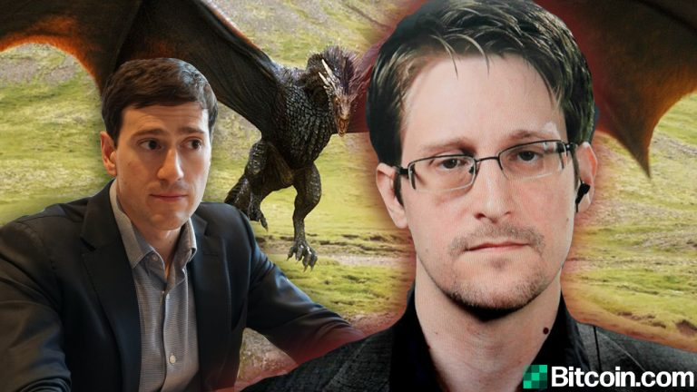 You are currently viewing Edward Snowden Knocks Alex Gladstein's Crypto Critique- 'Worst Part of Dragon-Level Wealth Is People Devolve Into Dragons Themselves'