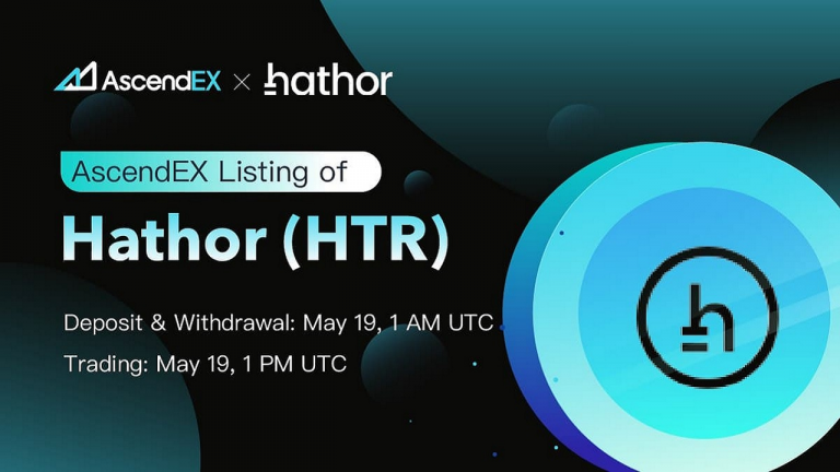 You are currently viewing Hathor Listing on AscendEX