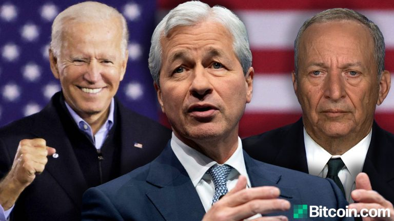You are currently viewing White House Defends Trillion-Dollar Stimulus While Jamie Dimon and Larry Summers Warn of Runaway Inflation