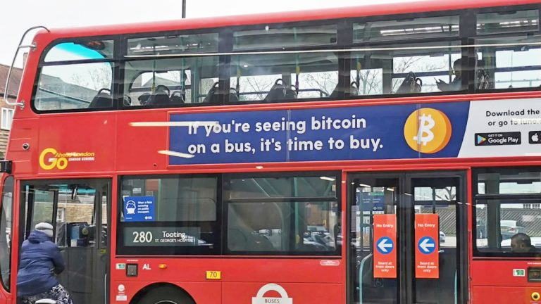 You are currently viewing UK Bans 'Time to Buy' Bitcoin Ads on Buses and Underground for Being Misleading