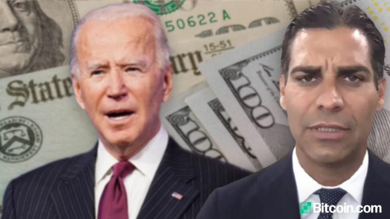 You are currently viewing Joe Biden's Trillion-Dollar Stimulus Bill Pushes Miami Mayor to Buy Bitcoin