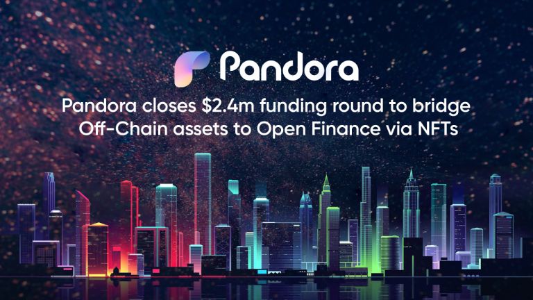 You are currently viewing Pandora Raises $2.4M From Industry Heavyweights to Bridge off-Chain Assets to Open Finance via NFTs