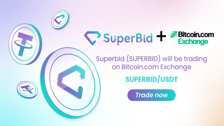 You are currently viewing SuperBid (SUPERBID) Token Is Now Listed on Bitcoin.com Exchange