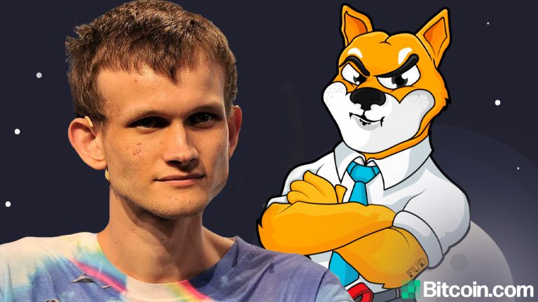 You are currently viewing Ethereum's Vitalik Buterin Burns $6.6 Billion Worth of Shiba Inu Tokens