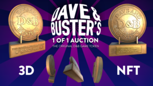 Read more about the article Sweet and Dave & Buster's Launch Uber-Rare NFT Auction to Benefit Make-A-Wish
