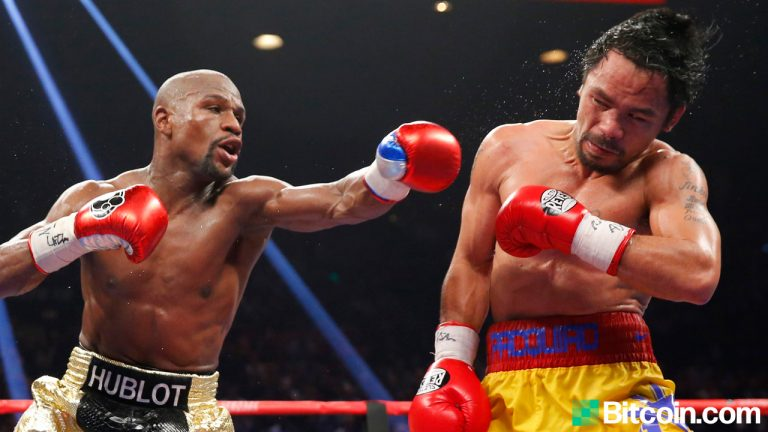 You are currently viewing Floyd Mayweather Gets Booed at Bitcoin Event for Saying 'Another Crypto Will Be Just as Big as BTC'