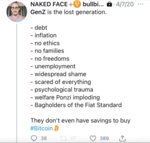 Read more about the article Why I Bought Bitcoin As A Gen Z