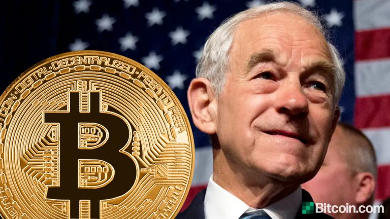 You are currently viewing Ron Paul Wants Bitcoin Totally Legalized to Compete With Dollar and Let the People Decide