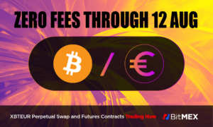 Read more about the article ZERO Trading Fees on XBTEUR for the Next Month, Only on BitMEX