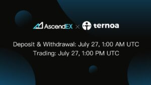 Read more about the article Ternoa to List on AscendEX
