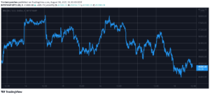 Read more about the article Correction Time: Bitcoin Slips Below $45K, $110B Wiped Off the Total Cap (Market Watch)