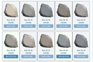 Read more about the article What are Ether Rocks? Meet the NFT Digital Rocks Craze