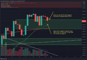 Read more about the article BTC Fails At $49-50k Resistance, But Weekly Chart Showing Strength (Bitcoin Price Analysis)