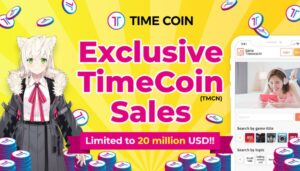 Read more about the article Exclusive TimeCoin (TMCN) sales opportunity with the best NFT, DeFi, and Game Player Matching Service