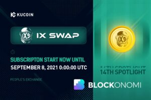 Read more about the article KuCoin Introduces 14th Spotlight Token Sale: IX Swap Project
