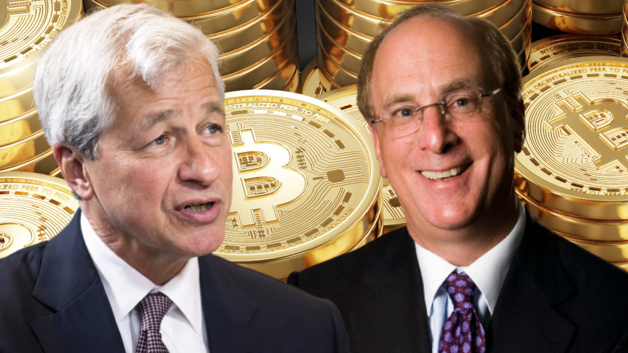 Read more about the article Blackrock CEO Agrees With JPMorgan Boss Jamie Dimon About Bitcoin, Sees 'Huge Role for Digitized Currency'
