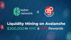 Read more about the article DeFi Yield Protocol Partners With KyberDMM to Boost DYP Token Liquidity on Avalanche